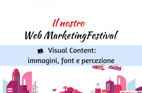 Content Strategy: creare Visual efficaci in 4 mosse – #wmf18