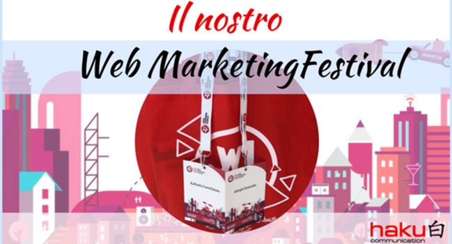 Il nostro Web Marketing Festival