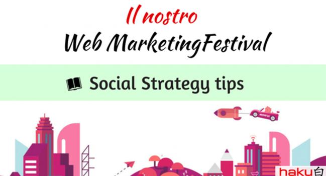 Social Strategy Tips – il nostro #wmf18